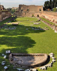 Rome - Palatine Hill - 'Hippodrome of Domitian' - stadium-shaped garden 81-96 AD | by edk7