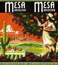Mesa Arizona ~ 40s