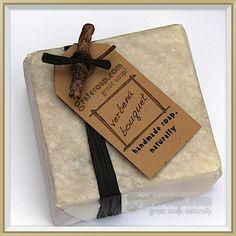 Image: Verbena Bouquet Soap Wrapped