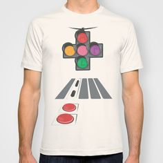 N Street Traffic Light T-shirt