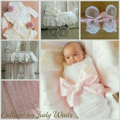 New Baby Collage by Judy Waits