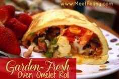 Garden-Fresh Oven-Omelet Roll.