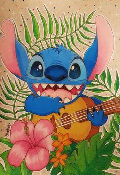 Stitch Prismacolors by on DeviantArt Stitch Prismacolors by on DeviantArt Lilo En Stitch, Lilo And Stitch Quotes, Lilo And Stitch Movie, Disney Phone Wallpaper, Wallpaper Iphone Cute, Cute Disney Drawings, Cute Drawings, Disney Kunst, Disney Art