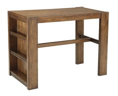 Image result for counter height table with storage