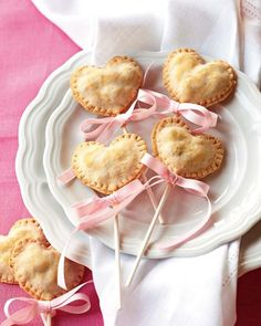 Heart Pie Pops