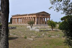 Temple of Hera II, or Neptune, at Paestum. Most of the ancient ruins in Italy you see are, not surprisingly, Roman. But just an hour south of Salerno is something different… and much older: Greek ruins.   The ancient ruins at Paestum are among the only Greek ruins left on Italy's mainland, and they're definitely the best-preserved.