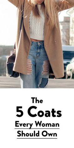 Cold weather will be blowing in soon, so it's time to add a cozy fall/winter coat to your closet. From chic camel and plaid wool to casual leather or the warmest shearling, we have all the coats every woman should own for fall and winter. Head over to eBay to learn the top 5 options to pick from for the season.
