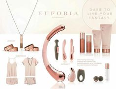 Only a handful of consultants are privy to this amazing high-end collection, Euforia. We have a new ROSE GOLD collection of jewelry, bamboo fiber pajamas, lubricants and enhancements, firming cream… Pure Romance Party, Pure Romance Consultant, Passion Parties, Pure Products, Pure Romance Products, Consultant Business, Savannah, Business Ideas, Party Online