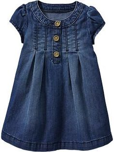 Denim Dresses for Baby $19.94 Old Navy