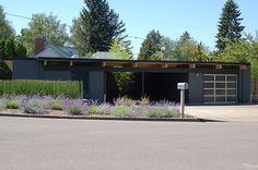 midcentury modern homes | Mid Century Modern Home Builder Robert Rummer | Modern Homes Portland