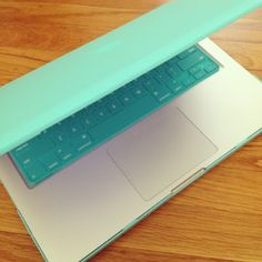 MacBook Air in Tiffany Blue <3