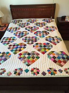 Make Your Own Sweet Quilt from Candy Heart Blocks