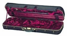 """Gewa / Jaeger Deluxe Oblong Violin Case 4/4 by Gewa - Jaeger. $1395.00. This classy and finely crafted German-made case is made by Jaeger, a company trusted for years, setting an industry standard for exquisitely crafted violin cases. Handmade genuine German Jaeger 4/4 Exterior is made from the finest quality """"Thermo"""" Shell for the best protection- German engineering at its finest. Screw attached cover made of genuine """"Cordura"""", Finest quality and extra strong hardwar..."""