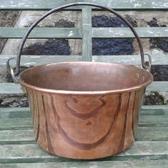 Copper french cauldron