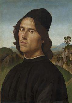 Pietro Perugino | Portrait of Lorenzo di Credi (1488) | Artsy