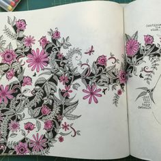 Johanna Basford | Picture by Sarahb | Colouring Gallery
