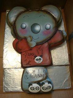 Ni Hao Kai Lan Koala by Avitably Delicious Kai Lan, Birthday Cakes, Snoopy, Animals, Fictional Characters, Art, Art Background, Animales, Animaux