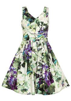 Julia Floral Prom Dress