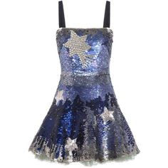 Valentino Crystal-Embellished Sequinned Silk Mini Dress ($10,285) ❤ liked on Polyvore featuring dresses, blue, valentino, blue dress, short silk dress, mini dress, short sequin cocktail dresses and sequin mini dress