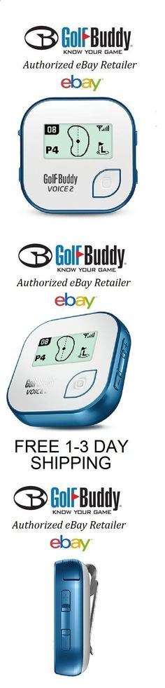 Golf Rangefinder - Rangefinders and Scopes 111289: Golf Buddy Voice 2 Ii Blue Golf Gps Rangefinder New In Box Fast 1-3 Day Shipping -> BUY IT NOW ONLY: $95.99 on eBay!