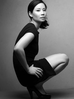 Actress || Lucy Liu || Black & White