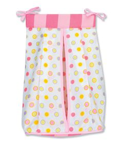 Pink Oh, the Places You'll Go! Diaper Stacker #zulily #zulilyfinds