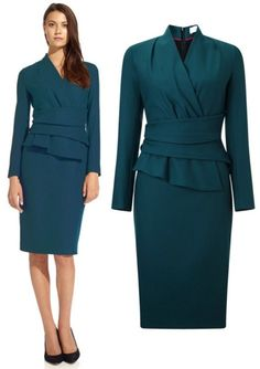 For Kate's LK Bennett Davina dress and Jude jacket, this is the Arlington dress from Fold London. As of this writing it is on sale for £195, about $280 USD.