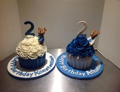 Twins bday cakes