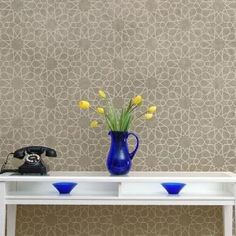 The Moroccan Geometry Wall Stencil includes a Free Filler Ceiling Stencil. You may also like:Intricate Moroccan Zelij Stencil, another example of complex radia