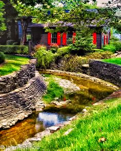 Maker's Mark Distillery, Kentucky. The grounds are beautiful and well-landscaped. You can tour the facilities also. The drive to Loretto, KY is something to experience.