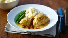 This chicken dinner party dish is great to make in advance of people coming…