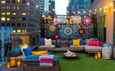 This Hotel Is Offering Camping in the Middle of Manhattan | Visit www.homedesignideas.eu for more inspiring images and decor inspirations