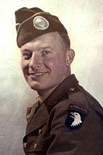 Pfc William P. Evans, 502nd PIR Company G, DSC/SS Recipient