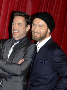 My two favorite men in film!
