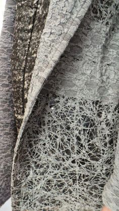 Innovative textiles for fashion with pattern & textures inspired by nature; fashion detail; fabric manipulation // Tramando: