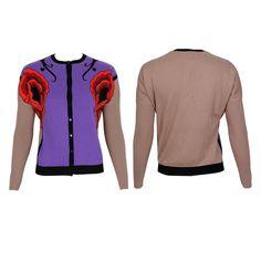 #whoswho #greenbird #marinamall #abudhabi #abudhabifashion #abudhabistyle #dubai #dubaifashion #dubaistyle #fashionista #womenswear #eveningwear #casualwear #fall2013 #winter2014 #cardigan #roses #purple #beige #buttonup