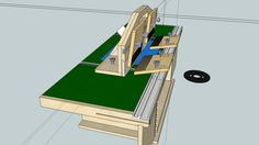 Large preview of 3D Model of bench top router table