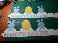 Easter Hats for the kids school easter day