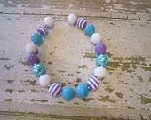 Ariel Inspired Chunky Bead Necklace