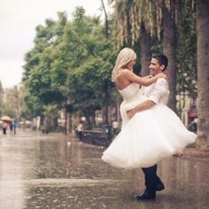 What To Do If It Rains on Your Wedding Day...