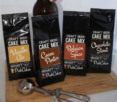 Craft Beer Cake Mix is finally available online!