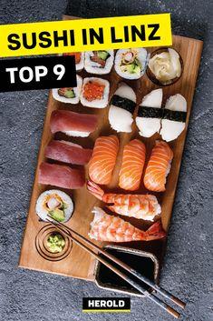 Sushi, Food, Linz, Vegetarian Restaurants, Japanese Food, Viajes, Tips, Essen, Meals