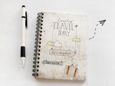 """Carnet de voyage """"let ' s explorer le monde"""""""