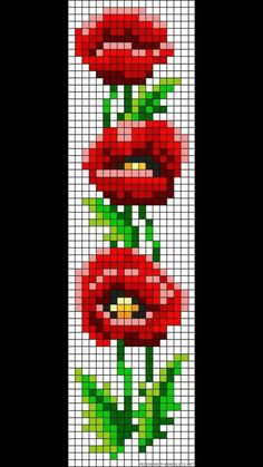 Cross Stitch Bookmarks, Cross Stitch Charts, Cross Stitch Designs, Cross Stitch Embroidery, Embroidery Patterns, Cross Stitch Patterns, Loom Bracelet Patterns, Bead Loom Bracelets, Bead Loom Patterns