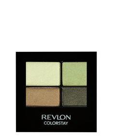Sombra Colorstay verde e dourada Revlon