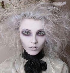 victorian ghost makeup