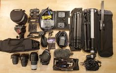 Complete Documentary Filmmaking Kit in One Backpack | Alaska Video Shooter