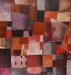 Colar C1633 Inspirado na tela Untitled, 1914 de Paul Klee EDIÇÃO LIMITADA (série de 20)