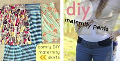super cute diy maternity clothes- need this in a few years! I'm done being pregnant for a little while!