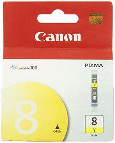 nice Canon CLI-8Y Ink Tank-Yellow